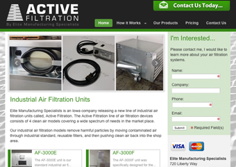 Industrial Air Filters and Filtration Systems