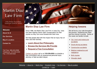 Martin Diaz Law Firm - Iowa City, Iowa